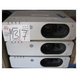 LOT OF 3 PANASONIC PT-FW430 WXGA PROJECTORS