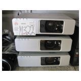 LOT OF 3 PANASONIC PT-FW300 PROJECTORS