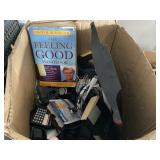 (1) BOX OF HOUSE HOLD MISCELLANEOUS ITEMS