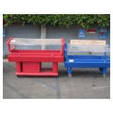 2 CAMBRO PLASTIC SERVING CARTS