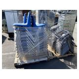 PALLET OF PLASTIC & PADDED CHAIRS
