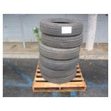 PALLET OF 6 TOWMAX POWER KING TRAILER TIRES