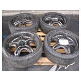 "SET OF 4 MST TWO-TONE ALLOY 20"" RIMS"