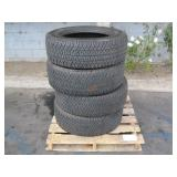 PALLET OF 4 MICHELIN LTX A/T-2 TIRES
