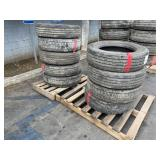 2 PALLET OF TRUCK TIRES: SIZE R19.5