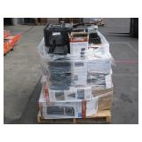 PALLET OF FIREPLACE/HEATERS CUSTOMER RETURNS