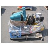 PALLET OF VARIOUS POWER TOOLS & EQUIPMENT