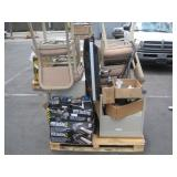 PALLET OF VARIOUS ITEMS FURNITURE & ELECTRONICS