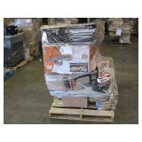 PALLET OF HARDWARE STORE ITEMS
