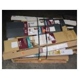 PALLET OF VARIOUS BLINDS & WINDOW COVERINGS