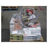PALLET OF VARIOUS HARDWARE STORE ITEMS