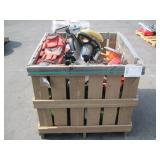 PALLET OF ASSORTED POWER TOOLS & ACCESSORIES