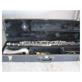 APPROX. 5 BASSET HORN CLARINETS WITH CASES