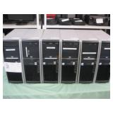 6 HP  XW4400 WORKSTATION COMPUTER TOWERS
