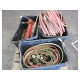 3 BOXES OF PNEUMATIC TOOLS & TORCHES