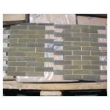 PALLET OF 9X6 GLASS TILES 200 S.F: