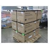 PALLET OF USED IN-CEILING LOADSPEAKER UNITS