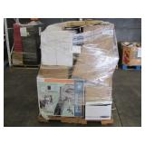 PALLET OF VARIOUS HOME & OFFICE GOODS