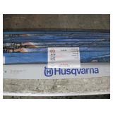 "LOT OF 12 HUSQVARNA CHAIN SAW BARS RSN B 24""/ 60CM"