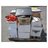 PALLET OF VARIOUS TYPES OF ITEMS