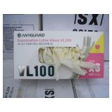 PALLET OF ANYGUARD LATEX GLOVES SIZE XS
