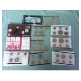 1 BAG WITH COINS SETS
