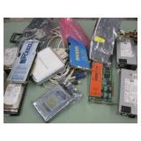 LOT OF VARIOUS COMPUTER PARTS