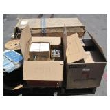 PALLET OF ELECTRICAL HARDWARE ITEMS