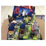 BOX OF STAR WARS ACTION FIGURES