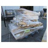 PALLET OF ASSORTED WHITE/CORK BOARDS
