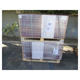 2 PALLETS OF HOME DECORATIONS 8MM LAMINATE