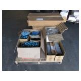 PALLET OF ASSORTED CONDUIT BOXES & ELECTRICAL