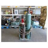 2 ACETYLENE TANKS WITH DOLLIES