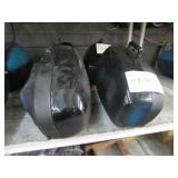 2 MOTORCYCLE SADDLE BAGS