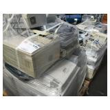 1 LOT OF OFFICE PRINTERS AND FAX MACHINES