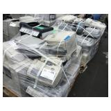 1 LOT OF OFFICE FAX MACHINES AND PRINTERS