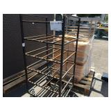 FOOD TRAYS AND STORAGE RACKS