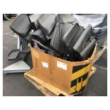 1 BOX OF CAR INTERIOR DOOR PANELS