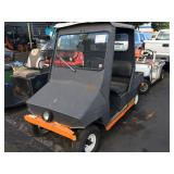 2 SEATER GOLF CART SERVICE CAR METAL BODY WINDSHIE