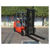 TOYOTA 7FGCU35  LOW PROFILE GAS POWERED FORKLIFT 8
