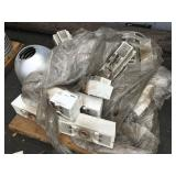 1 PALLET OF ELECTRONIC TRANSFORMERS AND LAMP