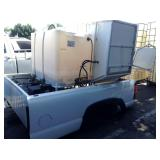 TRUCK BED WITH PRESSURE WASHER