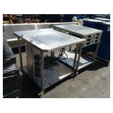 STAINLESS STEEL INDUSTRIAL TABLES