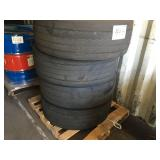 4 FIRESTONE TRUCK TIRES