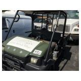KAWASAKI SERVICE CAR 5,165 HOURS READ