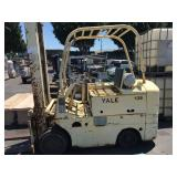 YALE KG51AT-60 FORKLIFT 2 STAGE MAX 6,000 LB CAPAC