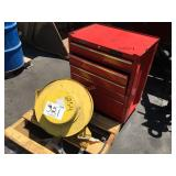 RED LOCKABLE TOOL CHEST