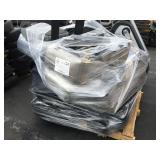 1 PALLET OF AUTO SEATS AND TRACKS GRAY