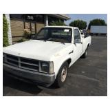 (DEALER ONLY) 1990 DODGE DAKOTA