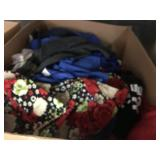 1 BOX OF WOMANS CLOTHING